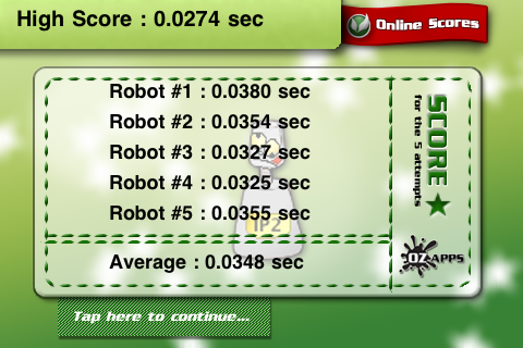 Screenshot ROBOrun