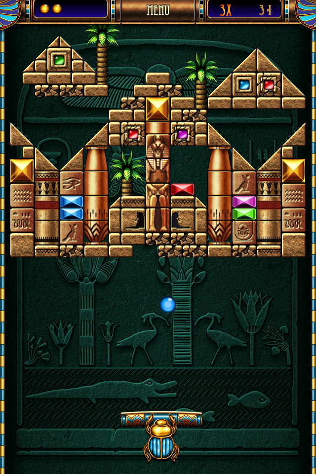 Screenshot Blocks of Pyramid Breaker Lite